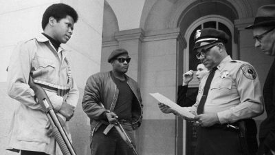 Black Panthers at California State Capitol