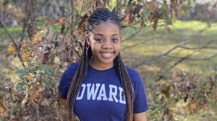 Desireé Williams, Howard University student