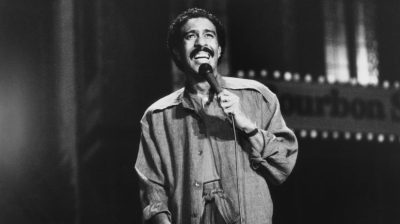 Comedian Richard Pryor
