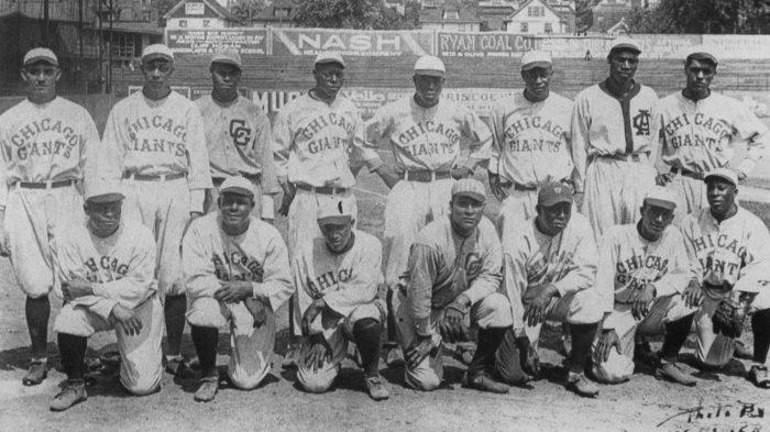 1922 Chicago American Giants