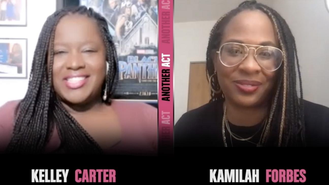 Kelley Carter and Kamilah