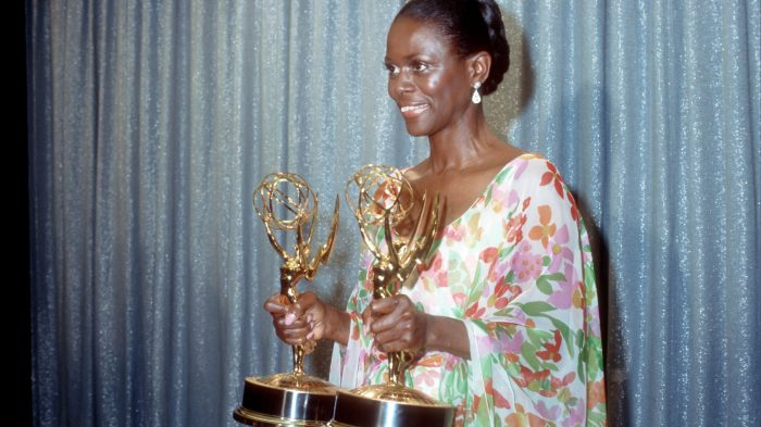 Cicely Tyson With Emmy Awards