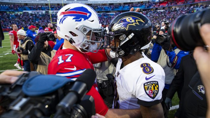 Lamar Jackson, Josh Allen and the fallacy of the dual-threat QB The Ravens-Bills matchup will feature two quarterbacks who are often knocked for their style of play