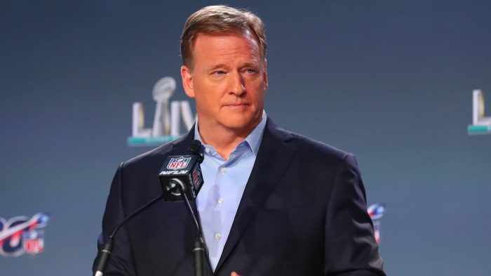 NFL: JAN 29 Super Bowl LIV – Commissioners Press Conference