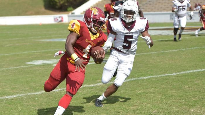 Tuskegee-Morehouse game in October 2019.