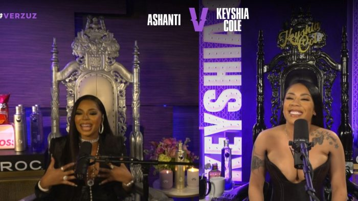 Ashanti and Keyshia Cole