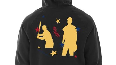Cubs x Nikko Washington Black History Month Collab_Hoodie Back