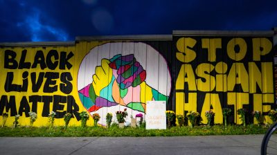 Activists In Atlanta Paint Murals In Solidarity With Asian American Community
