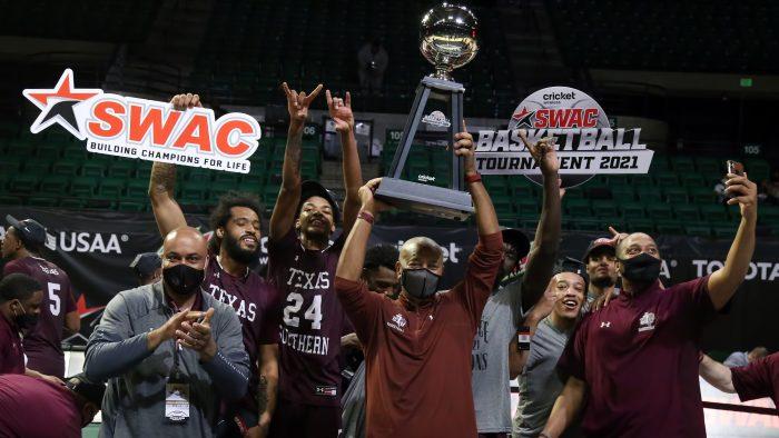 COLLEGE BASKEBALL: MAR 13 SWAC Men's Basketball Tournament – Texas Southern v Prairie View A&M