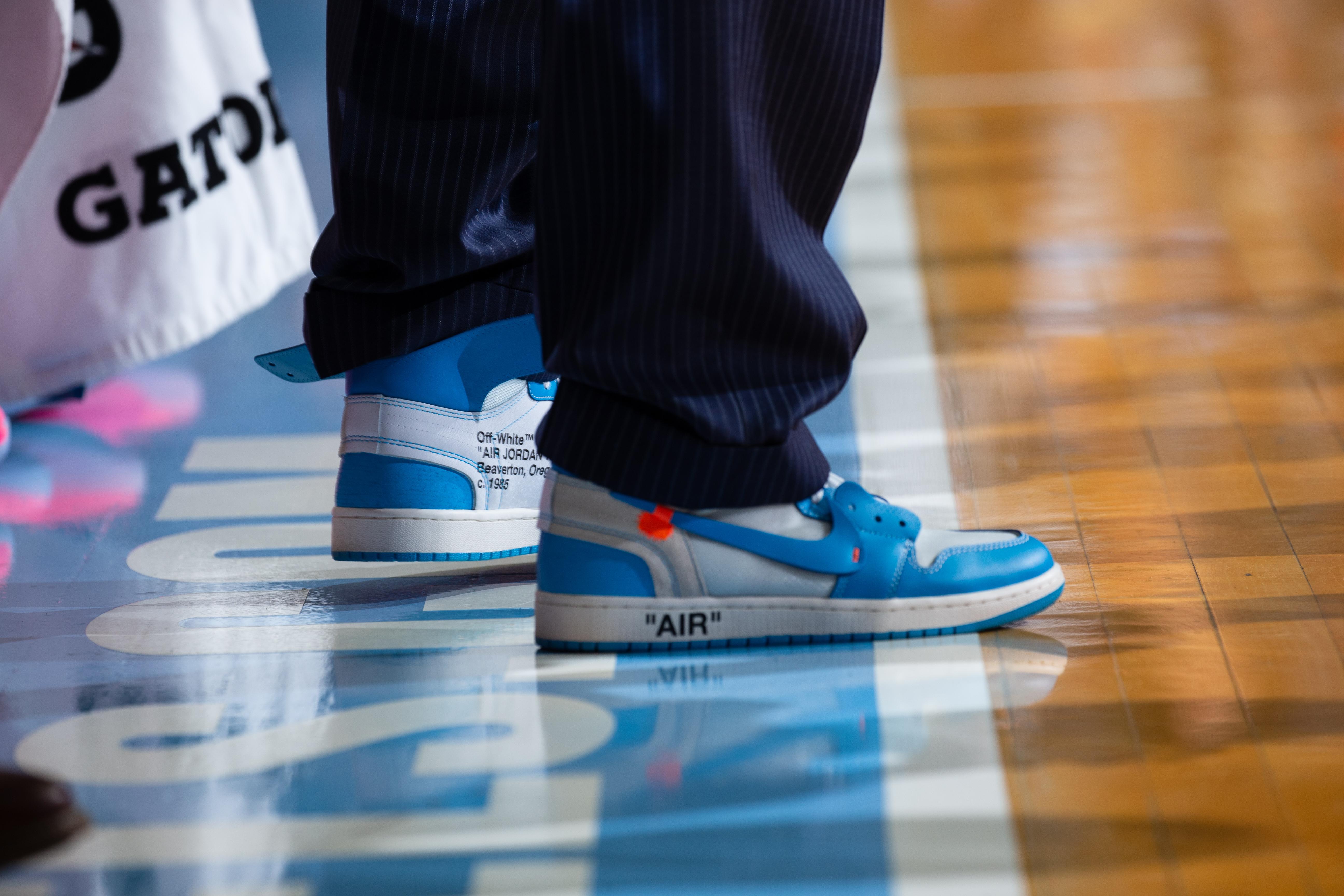 Charlie Justice North Carolina Tar Heels Jordan Football Jersey - Light Blue