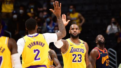 Play-In Tournament – Golden State Warriors v Los Angeles Lakers