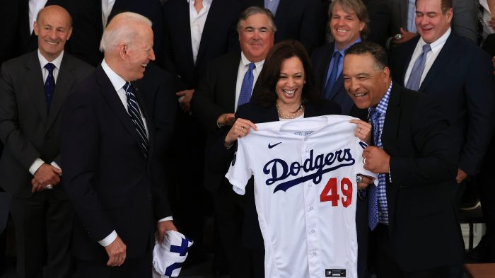 2020 World Series Champs LA Dodgers Visit The White House