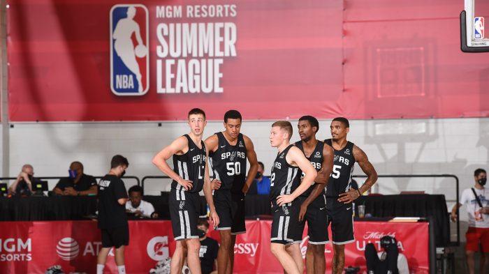 2021 Las Vegas Summer League – San Antonio Spurs v Oklahoma City Thunder