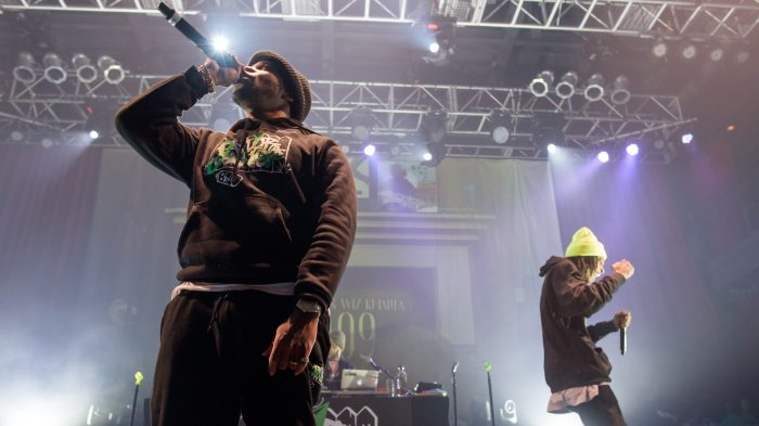 Curren$y and Wiz Khalifa Perform at the Fillmore Silver Spring in Silver Spring, MD