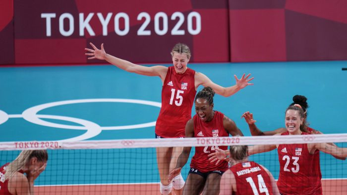 JAPAN-TOKYO-OLY-VOLLEYBALL-WOMEN-FINAL