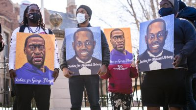 Activists Rally For Justice For George Floyd Ahead Of Trial Of Derek Chauvin